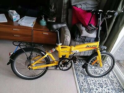 folding electric bike Yellow Colour Very Light Weight Suitable For All Sex
