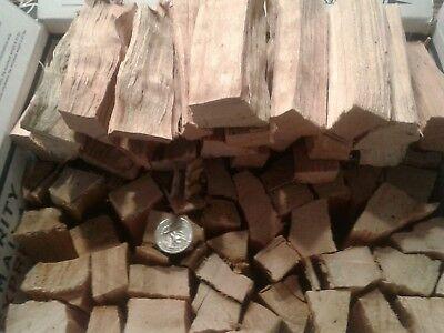 Seasoned Black Cherry  Barbecue Wood Smoking or Grilling Chunks 9+ lbs