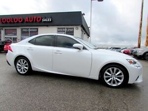 2015 LEXUS IS250 AUTOMATIC LEATHER BLUETOOTH CERTIFIED WARRANTY