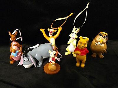 - Disney Winnie the Pooh Christmas Ornament set Eeyore, Roo, Piglet, Tigger, Pooh