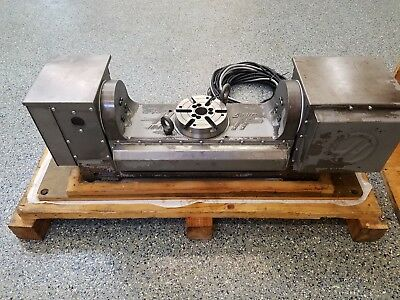 Used Haas Tr-160 Brushless Trunnion Sigma 1 Rotary Table Indexer 4th 5th Axis