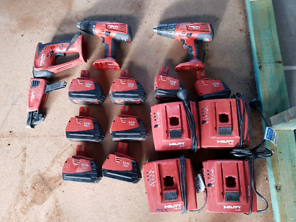 HILTI battery gear and drills