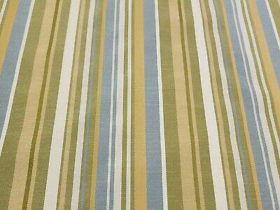 "Stripe Upholstery Home Decor 2 Yard Designer Fabric 54"" Wide"