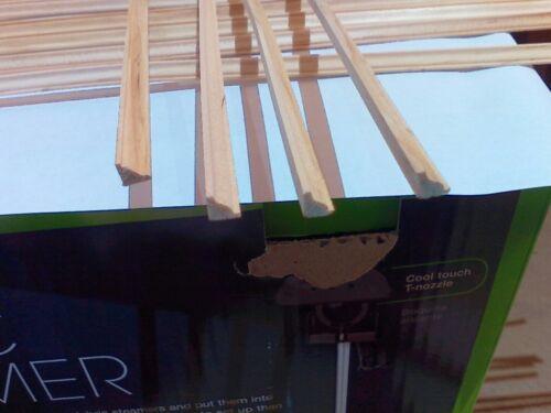dollhouse miniatures lot 12 Pcs Cornace wood Molding 1:12 New 2nd/'s Trim