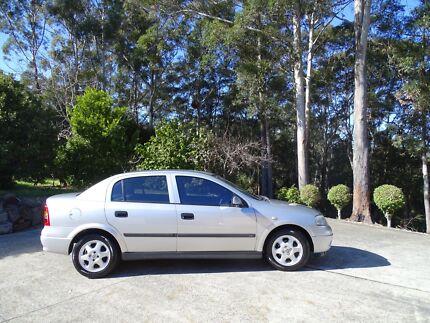 2001 Holden Astra Sedan Terrigal Gosford Area Preview