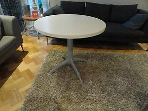 Genuine Italian Segis White 900mm Round Dining Table #1 Lutwyche Brisbane North East Preview