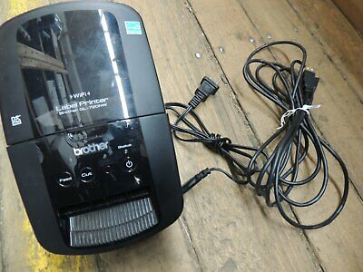 Brother Ql-710w Wireless High Speed Receipt Label Printer W Cables Refurbished