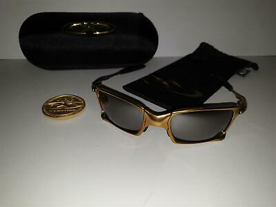 OAKLEY X-Metal X-SQUARED 24K Gold/Titanium Iridium Polarized 006011-10 #307/750