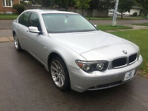 2002 BMW 745i low mileage