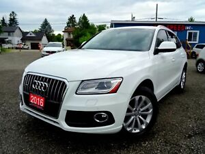 2016 Audi Q5 3.0T Progressiv Navigation Panoramic One Owner Cer