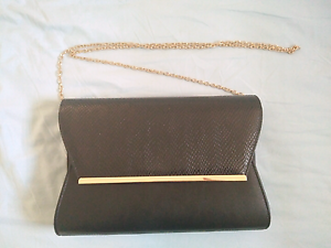 Black and gold clutch bag Lutwyche Brisbane North East Preview