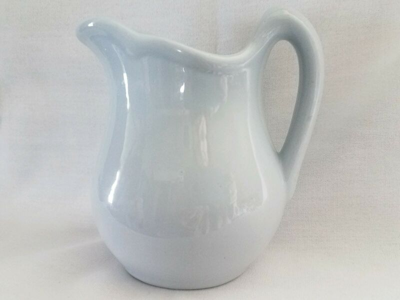 Buffalo China Lune Blue Creamer Pitcher Restaurant Ware