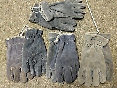 One Pair Of Shelby Leather Structural Fire Fighters Gloves Size Large Nfpa Sei