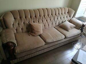 3 pieces of Sofa bed in new and very good condition