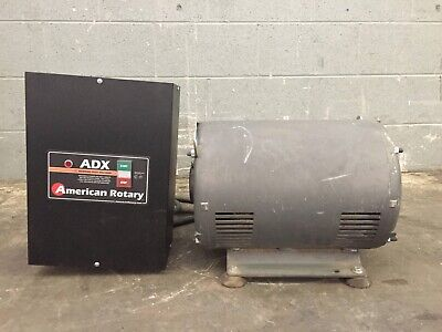 American Rotary Adx20 Phase Converter Ccr14601