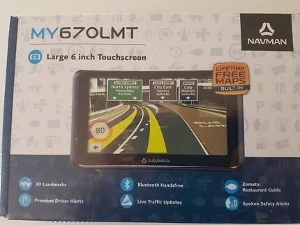 Brand NEW Navman MY670LMT 6