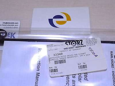 Storz 32340 Insulated Outer Sheath For 32340pt Surgical Sponge Holder 5mmx30cm