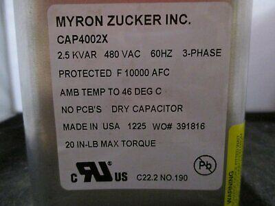 New Myron Zucker Dry Cell Capacitor - Cap4002x