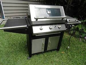 Garth 3+1 Burner Hooded BBQ with Rotisserie & Accessories Lutwyche Brisbane North East Preview