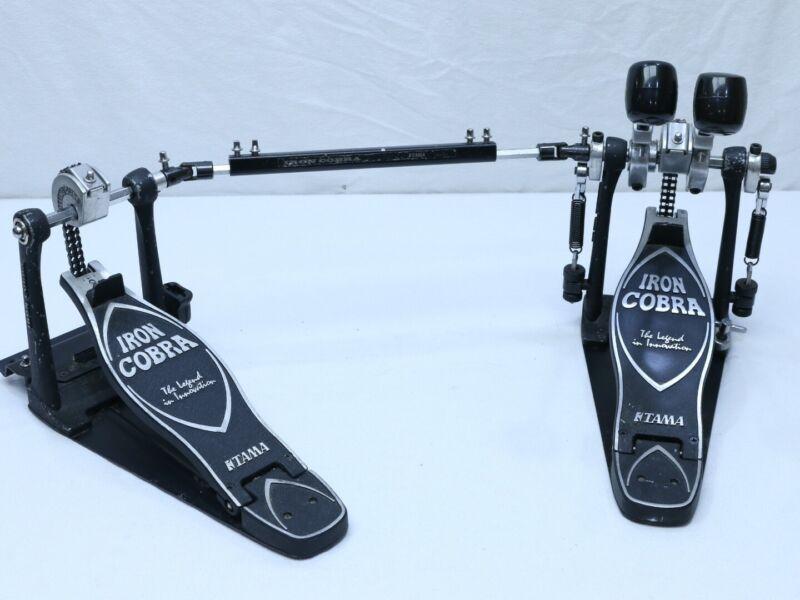 Tama Iron Cobra Power Glide Double Kick Drum Bass Chain Drive Pedal - Good Buy!!