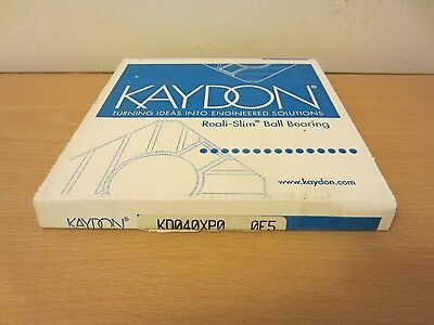 Kaydon Kd040xp0 Open Reali Slim Bearing Type X Four-point Contact