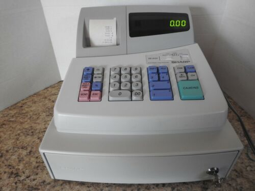 Sharp XE-A101 Electronic Cash Register with Key Tested Works