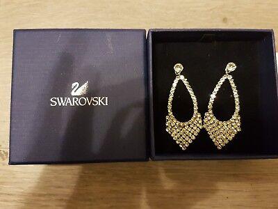 Swarovski Best Pierced Ohrrin Silber  Original  Neu earrings np 155 euro 5080966