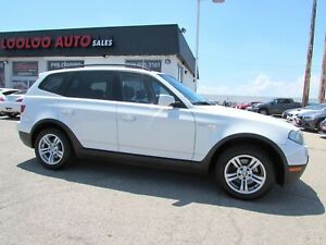 2007 BMW X3 3.0si PANORAMIC SUNROOF AUTO LEATHER CERTIFIED