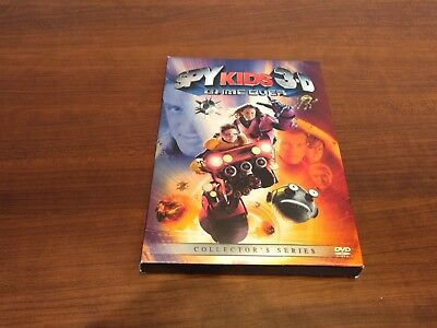 Spy Kids 3: Game Over (DVD, 2004, Includes both 2-D and 3-D discs & glasses) - Spy Kids Glasses