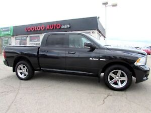 2010 Dodge Ram 1500 Laramie Crew Cab 4WD 5.7L HEMI LEATHER CERTI