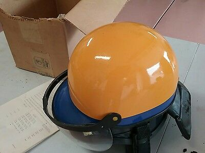Vintage CALIFORNIA HIGHWAY PATROL RIOT Helmet SIERRA ENGINEERING CAPITOL GAURD