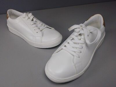 NEW CO.FORTVIEW JAMIE LACE UP SNEAKER SHOES SIZE 12W WHITE GOLD  (Jamie Lace)