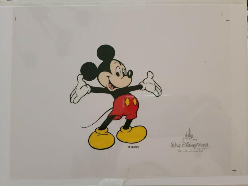 DISNEY Mickey Mouse Animation Art Cel