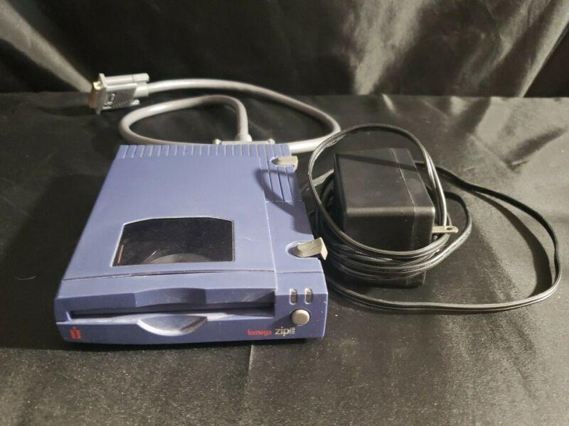 iOmega Zip 100 USB Parallel Port External Zip Drive Vintage 1999 Untested