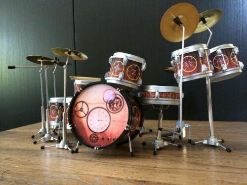 Neil Peart Rush Time Machine Drum SetMini Drum Kit Replica