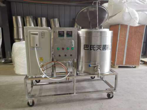 100L Commercial Milk Pasteurization Machine Pasteurizer with heating&Cooling
