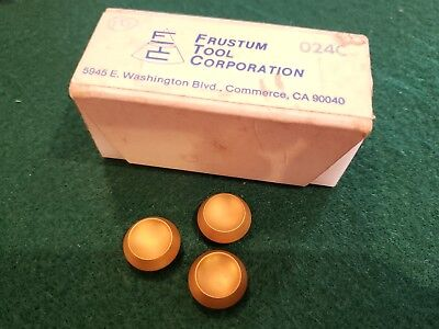 Fly Cutter Rotary Technologies 024c Frustum Carbide Inserts Box Of 10