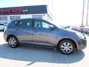2009 Pontiac Vibe AUTOMATIC HATCHBACK CERTIFIED 2YR WARRANTY