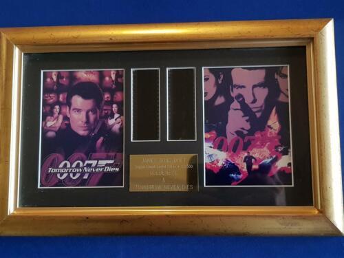 James Bond Original Filmcell L. Ed. GOLDEN EYE & TOMORROW NEVER DIES 122/500