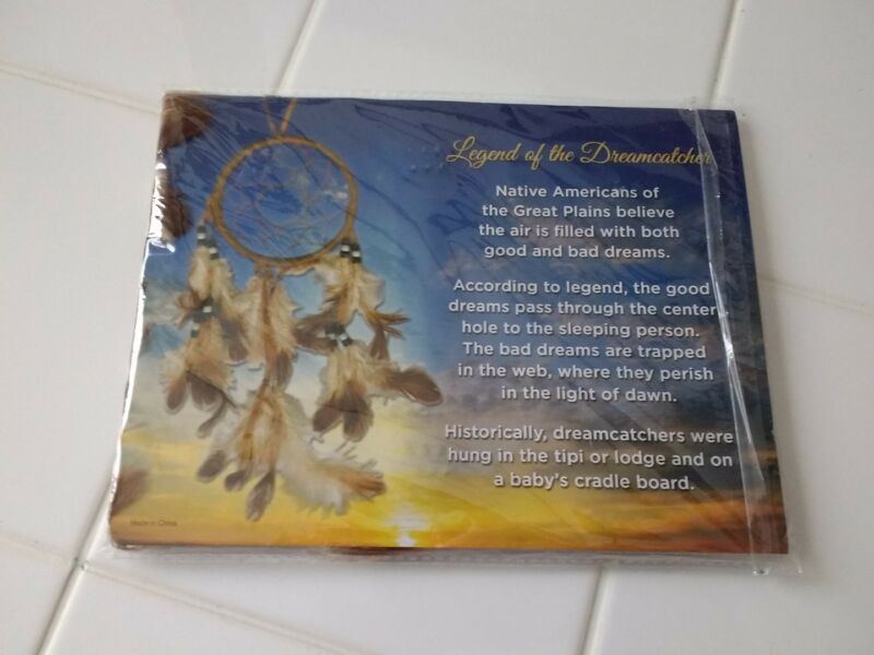 Preowned Legend of the Dreamcatcher - Dreamcatcher with Legend Saying - Giftable