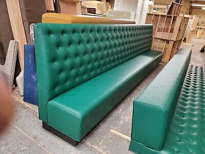 Restaurant Booths With Tufted Back On-sale