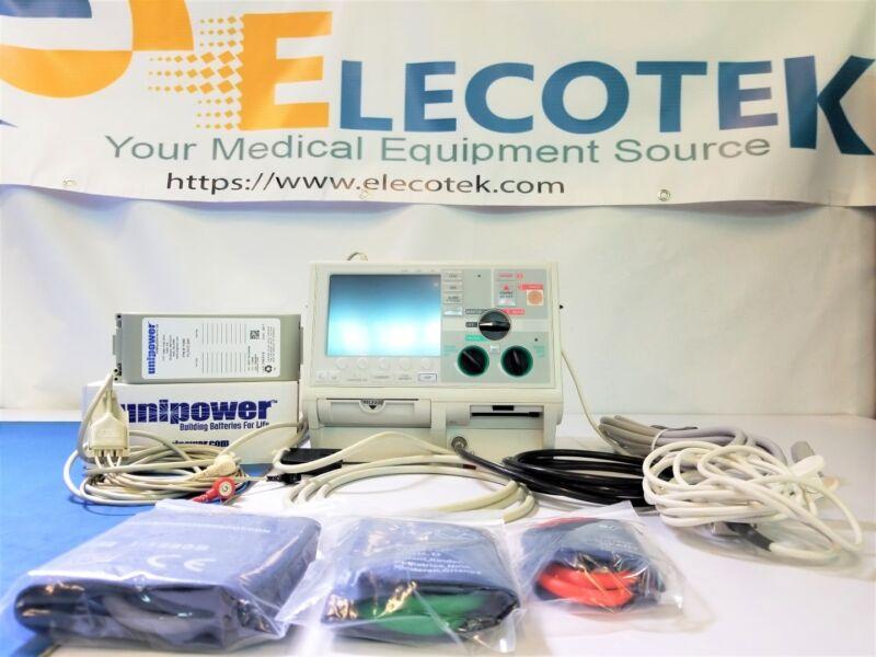 Zoll M Series ALCS Defibrillator 3 Lead NiBP SPO2 Pacer Battery