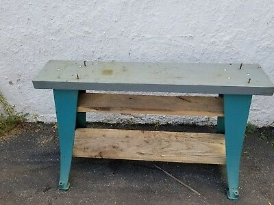Southbend Lathe Atlas Craftsman Cast Iron Table Legs Bench