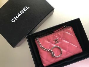 Chanel coin& card bag