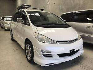 2003 Toyota Tarago Wagon White 8 Seaters Air Con Wingfield Port Adelaide Area Preview