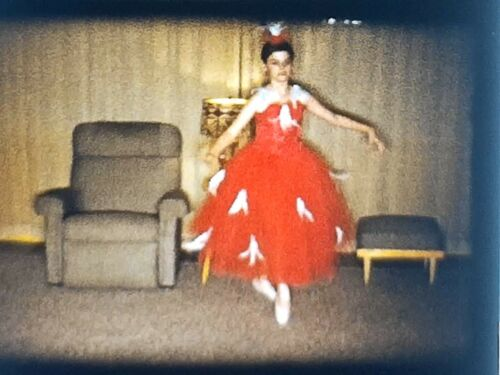 """6"""" 8mm Film Reel  Child Performers Ballet / Catholic Confirmation 1960s - 9 min"""