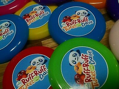 12 Ruff Ruff  Tweet And Dave Mini Frisbees Birthday Party Favors  Treat Loot Toy