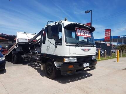 1992 HINO HAWK TOW TRUCK TILT & SLIDE REGO AND RWC FINANCE TODAY