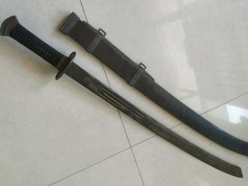 "Collectable Chinese Qing Dao"" Sword Sharp old Blade Rare"