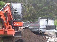 Location pelle excavatrice 3.5 tonnes